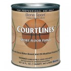 Bona CourtLines Sport Floor Paint - CASE OF 4 - Black Quart