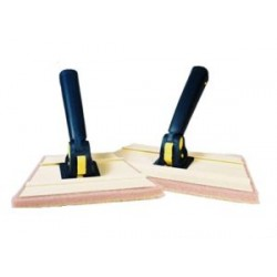 "Duratool 7"" Angled Trim Pad Kit (4 pads and 1 handle)"