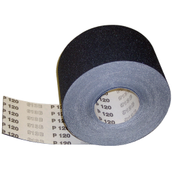 "Floor Mechanics 8"" x 5 yd. 24 Grit Paper Roll"