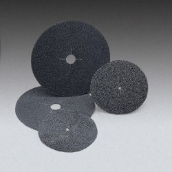 "FM 7"" X 5/16"" 40 Grit Plain Paper Discs With Slots"